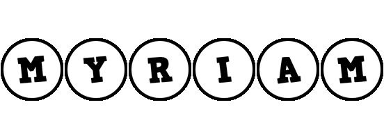 Myriam handy logo