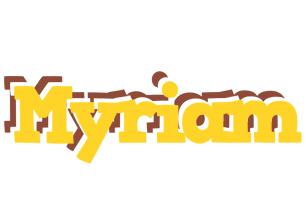 Myriam hotcup logo