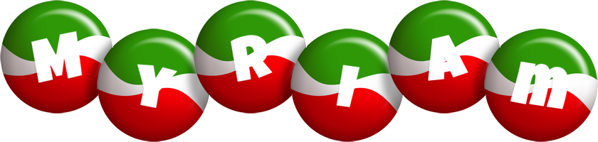 Myriam italy logo