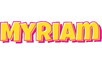 Myriam kaboom logo