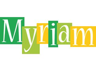 Myriam lemonade logo