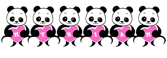 Myriam love-panda logo