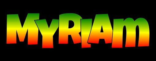 Myriam mango logo