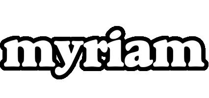 Myriam panda logo