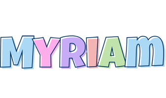 Myriam pastel logo