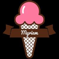 Myriam premium logo