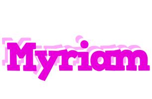 Myriam rumba logo