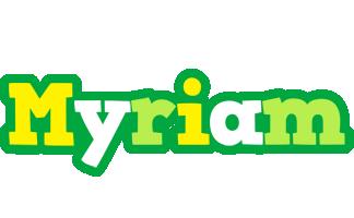 Myriam soccer logo