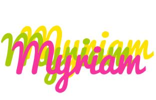 Myriam sweets logo
