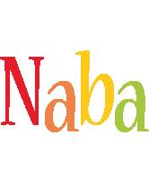 Naba birthday logo