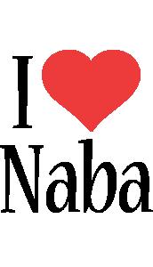 Naba i-love logo