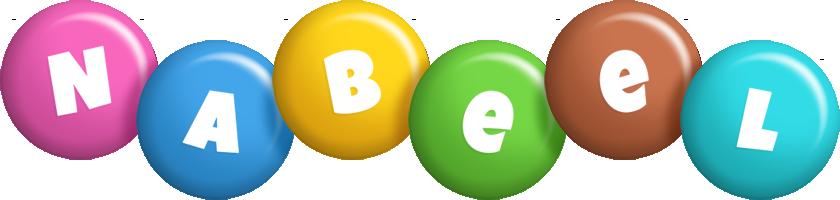 Nabeel candy logo