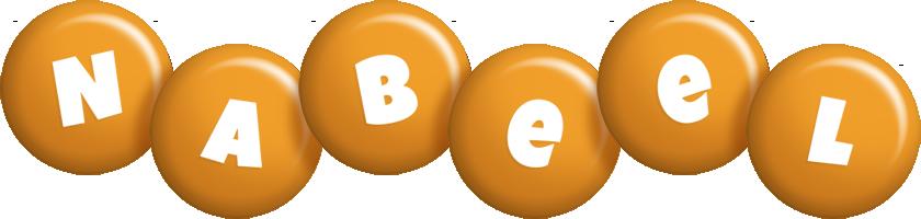 Nabeel candy-orange logo