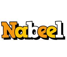 Nabeel cartoon logo