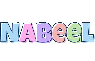 Nabeel pastel logo