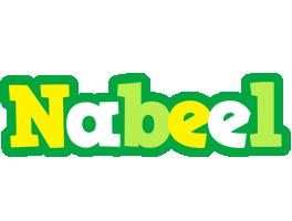 Nabeel soccer logo
