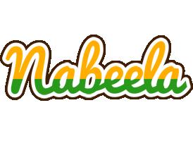 Nabeela banana logo