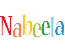 Nabeela birthday logo