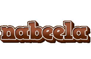 Nabeela brownie logo