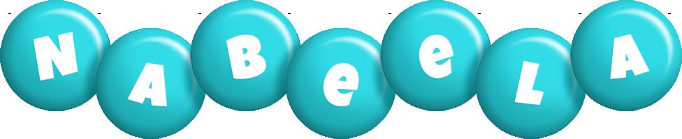 Nabeela candy-azur logo