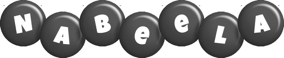 Nabeela candy-black logo