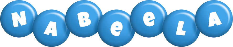 Nabeela candy-blue logo