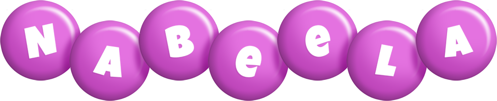 Nabeela candy-purple logo