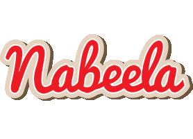 Nabeela chocolate logo