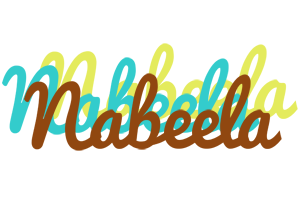 Nabeela cupcake logo