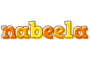Nabeela desert logo
