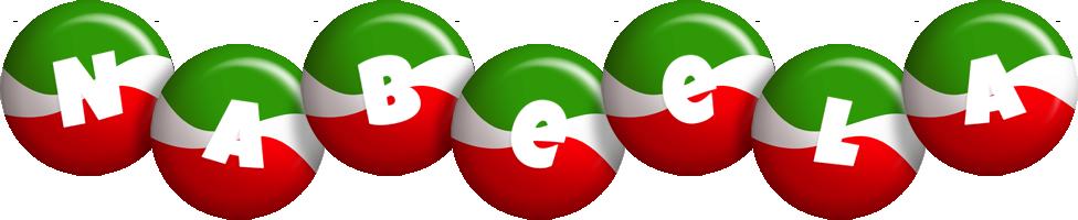 Nabeela italy logo