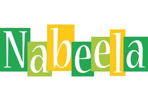Nabeela lemonade logo