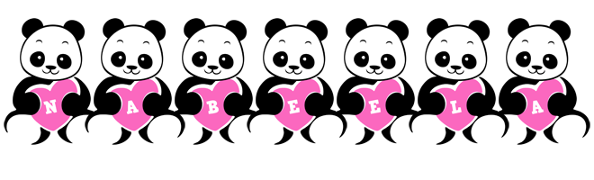 Nabeela love-panda logo