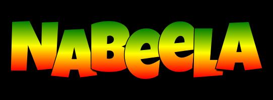 Nabeela mango logo