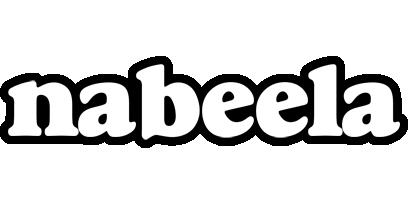 Nabeela panda logo