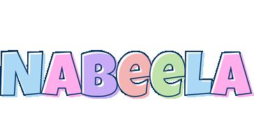 Nabeela pastel logo