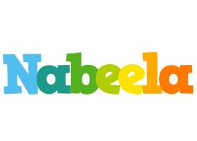 Nabeela rainbows logo