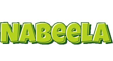 Nabeela summer logo