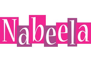 Nabeela whine logo