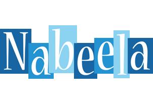 Nabeela winter logo