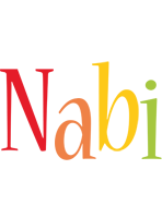 Nabi birthday logo