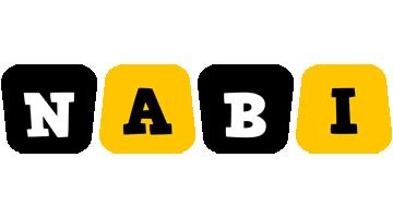 Nabi boots logo
