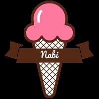 Nabi premium logo
