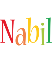 Nabil birthday logo