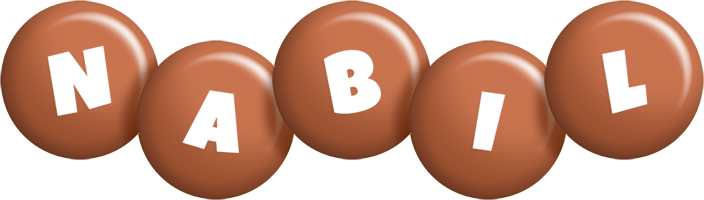 Nabil candy-brown logo