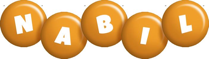 Nabil candy-orange logo