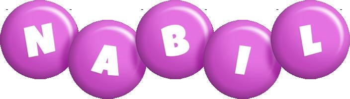 Nabil candy-purple logo