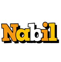 Nabil cartoon logo