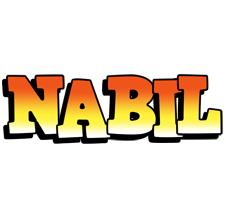 Nabil sunset logo