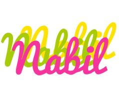 Nabil sweets logo